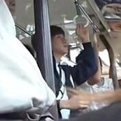 【ゲイ動画】部活帰りのノンケジャージ男子高校生がゲイだらけの痴漢バスに乗車してしまい・・・