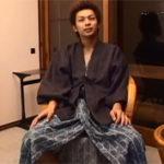 【ゲイ動画】街でスカウトした素人ノンケイケメンを温泉旅館で入浴後に本番アナルセックス