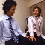 【ゲイ動画】学生時代にケンカ別れしたイケメンゲイカップルが偶然仕事中に再会して…