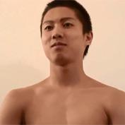 【無修正 ゲイ動画】スポーツで鍛えたスジ筋マッチョな学生達がカメラの前でオナニー披露