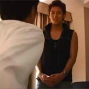 【ゲイ動画】出張先のホテルでデリヘルを呼んだリーマンが部屋にやって来た超絶イケメンの売り専BOYとアナルの掘り合い