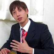 【ゲイ動画】ジャニ系イケメンリーマン君がやりたい放題されるオモチャ状態に・・・しぶしぶオナニー披露も
