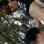 【無修正 ゲイ動画】男の子同士で海水浴に遊びに行った帰り道にイケメンの友達に山中でBL行為