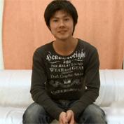 【無修正 ゲイ動画】居酒屋で働いているイケメン店員がゲイアダルトに出演してカメラの前で公開オナニー