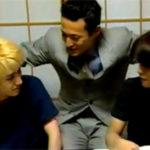 【無修正 ゲイ動画】イケメンノンケの教え子2人に同性愛者の家庭教師がアナル調教
