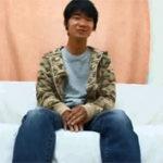 【無修正 ゲイ動画】バイク便で働く素人ノンケの小早川くんがカメラの前でオナニー披露w
