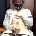 【無修正 ゲイ動画】ネカフェでオナニーした様子を自撮りしたイケメン少年