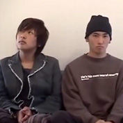 【ゲイ動画】男前の坊主×口数少ないジャニ系イケメンが出会ったその日に一目惚れのボーイズラブセックス