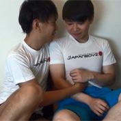 【無修正 ゲイ動画】ショタ感が残るおとなしそうな友人を強引に誘ってゲイアダルトに出演!カメラの前でアブノーマルセックス!