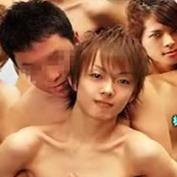 素人男性「かわいい男とアナルセックスしたいんです」…ジャニ系イケメンとご対面→待望の雄乱交へ