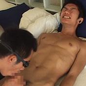【無修正】イケメンのスジ筋ラガーマンが濃厚フェラで絶頂悶絶w